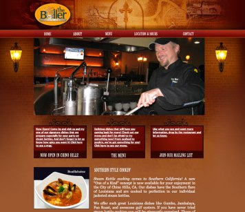 Restaurante Website