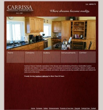 Custom Cabinet Site