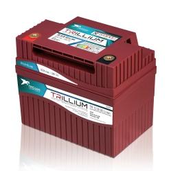 Trillium Lithium Label Design