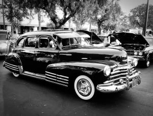 Vintage Chevy Bomb Lowrider
