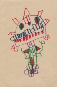 sketch by child
